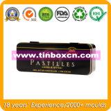 Schokoladen-Zinn-Kasten, Geschenk-Zinn-Kasten, Verpacken- der Lebensmittelkasten