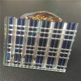 Luz - vidro do vidro laminado do marrom/arte/vidro de vidro/decorativo cinzeladura elétrica com espelho