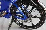 36V 250W faltbare schwanzlose Bewegungslithium-Batterie-blaue elektrische Fahrräder (JSL039S-9)