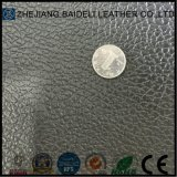 Couro do plutônio do PVC do teste padrão de Lichee para a mobília/sacos/sapatas/assento de carro/decoração