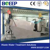 Inoxidáveis automáticos Não-Obstruem o desidratador da lama do parafuso do Multi-Disco usado para o tratamento de Wastewater da indústria