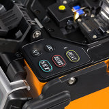Shinho einkerniger Lichtbogen-Faser-Schmelzverfahrens-Filmklebepresse-Installationssatz