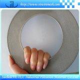 Edelstahl-Kreis-Filter-Platte mit Rand