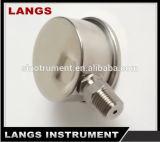 045 Magnehelic todo o calibre de pressão do aço inoxidável