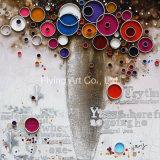 Pittura decorativa domestica della tela di canapa olio con paesaggio