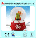 Изготовленный на заказ глобус снежка смолаы украшения рождества
