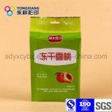 Sac de empaquetage sec personnalisé de casse-croûte de fruit avec Handhole