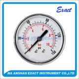 Type arrière Mesurer-Normal manomètre de pression Mesurer-Sèche d'acier inoxydable