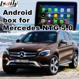 Interfaz de vídeo Sistema de navegación GPS para Android Benz C, Cla, CLK, B, A, E, Glc (NTG5.0) Actualizar táctil, Pantalla de Cast, MirrorLink, HD 1080P, Google Map