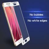Película de cristal Tempered curvada 3D de plena pantalla del protector de la pantalla 9h para la galaxia C7 de Samsung