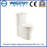 Toilette en céramique de salle de bains de gicleur de Siphonic