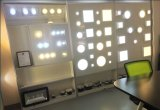 luces caseras montadas redondas de la lámpara del techo de la iluminación del panel de 6W LED AC85-265V 50-60Hz