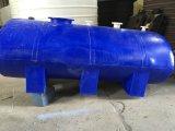 Réservoir de rotation horizontal carré dans la couleur bleue