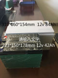 Paquete recargable de la batería de litio de Ubetter 12V 84ah para automotor
