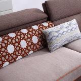 Moderner Entwurfs-Schnittsofa mit Leinenqualitäts-Gewebe für Wohnzimmer-Möbel - Fb1150