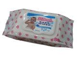 부드러움 비 길쌈된 아기 피부 관리 젖은 닦음
