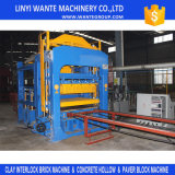 Máquina de fatura de tijolo de pedra da poeira Qt10-15, bloco oco que faz a máquina Filipinas