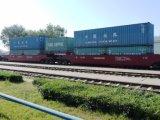 Puxar o vagão para a estrada Railway