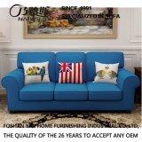Sofá americano da tela do estilo de país para a mobília M3003 da sala de visitas