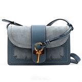 Più nuova borsa di modo del sacchetto dell'imbracatura di Crossbody del cuoio della pelle scamosciata delle donne di stile con le viti prigioniere Emg5018
