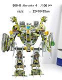diverso modelo de papel de la robusteza del rompecabezas Jigsaw 3D para el regalo del niño