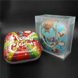 Grande contenitore quadrato di dolci dello stagno del metallo per il regalo (S001-V6)