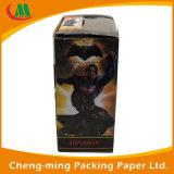 Impreso por mayor OEM caja de papel de regalo con la ventana clara del PVC