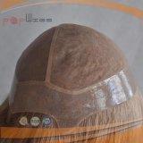 Tipo di vendita caldo parrucche piene della parrucca dei capelli umani del bordo dell'unità di elaborazione del merletto di Handtied dei capelli biondi di 100%