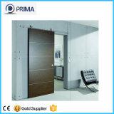 Sin marco puerta corrediza de vidrio y la puerta de granero (PR-D59)
