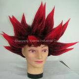 축하 사람의 모발 감각을%s 합성 머리 가발을 경축하는 사육제
