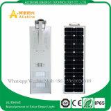 réverbère 40W solaire avec le panneau solaire, le contrôleur et la batterie