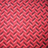 Disegno differente del tessuto molle eccellente del velluto di colore solido per il sofà