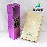 Caixa de empacotamento da impressão delicada do ouro para Comestics