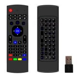 Mx3 Fly Air Mouse 2.4GHz Sensores Mini teclado sem fio para TV Box