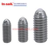 ステンレス鋼の標準ローラー球の出版物適合のプランジャ