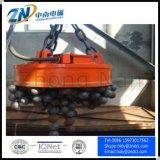 Magnete di sollevamento di alta qualità installato sulla gru o sull'escavatore