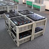 12V 100ah AGM VRLAの鉛の酸の前部ターミナル電池の太陽電池