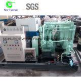 Compressor van het Gas van de Stikstof van de Zuiger van de Olie van de Luchtkoeling de Vrije Industriële