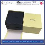 Boîte-cadeau en bois personnalisée par cuir d'unité centrale pour le collier de bracelet de bracelet de boucle de montre errant en gros