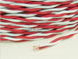 Cable de alambre del conductor del cobre del aislante del PVC