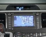 Relação video Android do sistema de navegação do GPS para o Sienna de Toyota