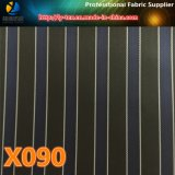 Merci di richiesta della banda tinte filato poco costoso per rivestimento dell'alta società (X087-90)