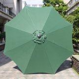 Großartiger Aluminium-Patio-Regenschirm des Patio-9FT mit UVschützendem
