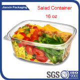 Caixa de empacotamento da salada plástica descartável desobstruída