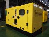 Тепловозный электрический молчком генератор энергии с двигателем 20kVA 16kw Perkins