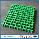 Reja antirresbaladiza al por mayor de la calzada del plástico FRP/GRP