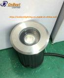 Venta caliente 1W LED de iluminación subterráneo en IP67 para uso al aire libre