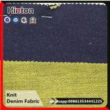 Ткань джинсовой ткани ткани джинсыов фабрики Китая цветастым связанная основанием