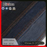 Tissu 100% coton en tissu Jean Fabric 4 oz en noir et blanc
