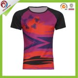 Haut-Komprimierung-Hemd-Gymnastik-Trainings-Golf-Fahrbetrieb-Hemd der Männer